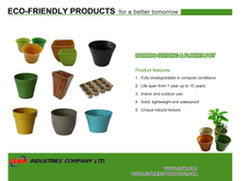 Bamboo Sedding&Flower Pot