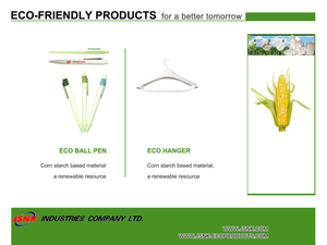 Eco Ball Pen. Eco Hanger